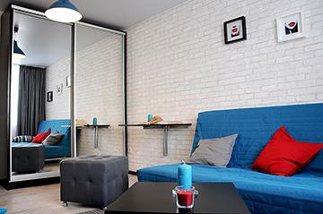 3D тур по однокомнатной квартире в Гармонии