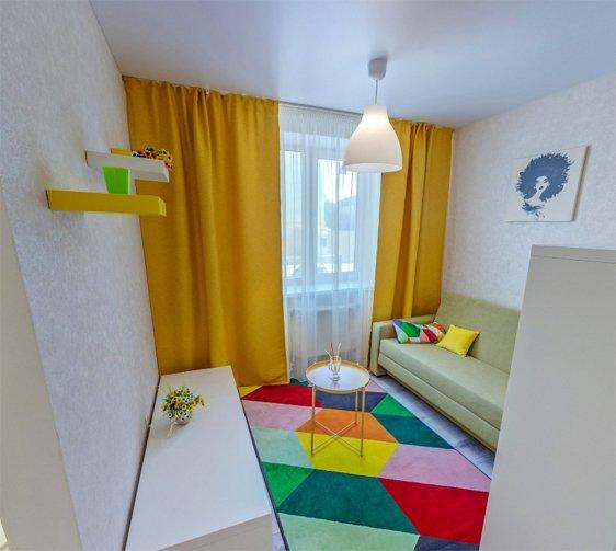 3d тур по 1-комнатной квартире в ЖР Гармония