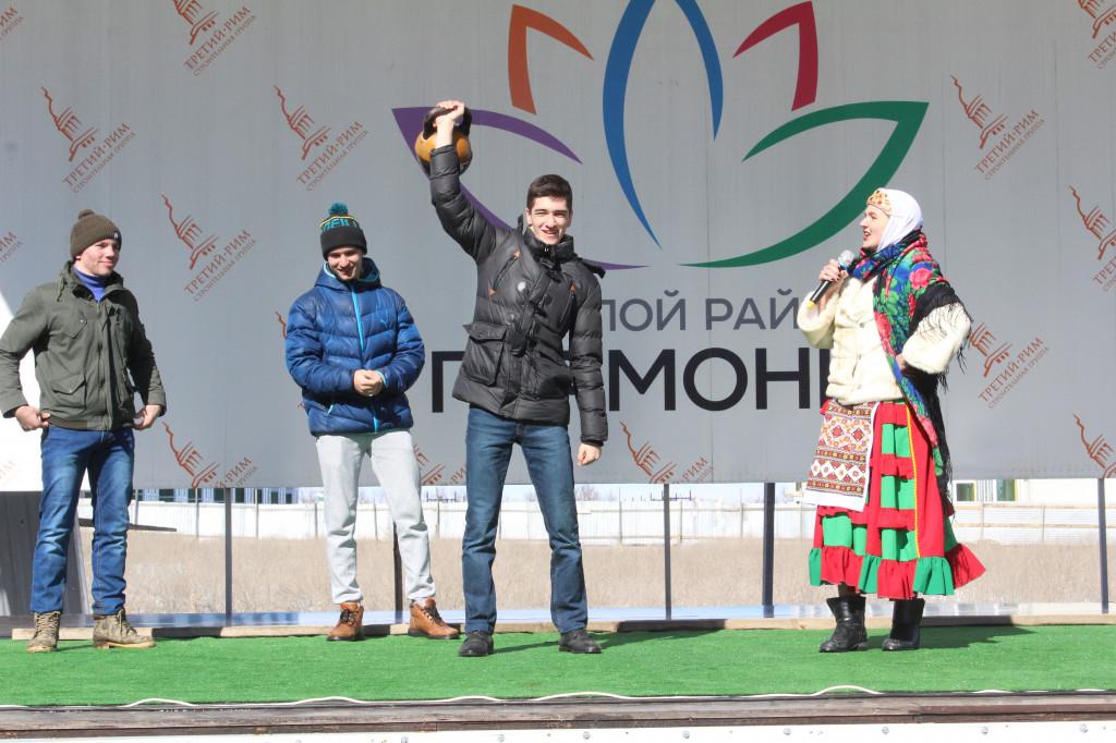 Весело прошла масленица в жр Гармония г.Михайловск Ставропольского края