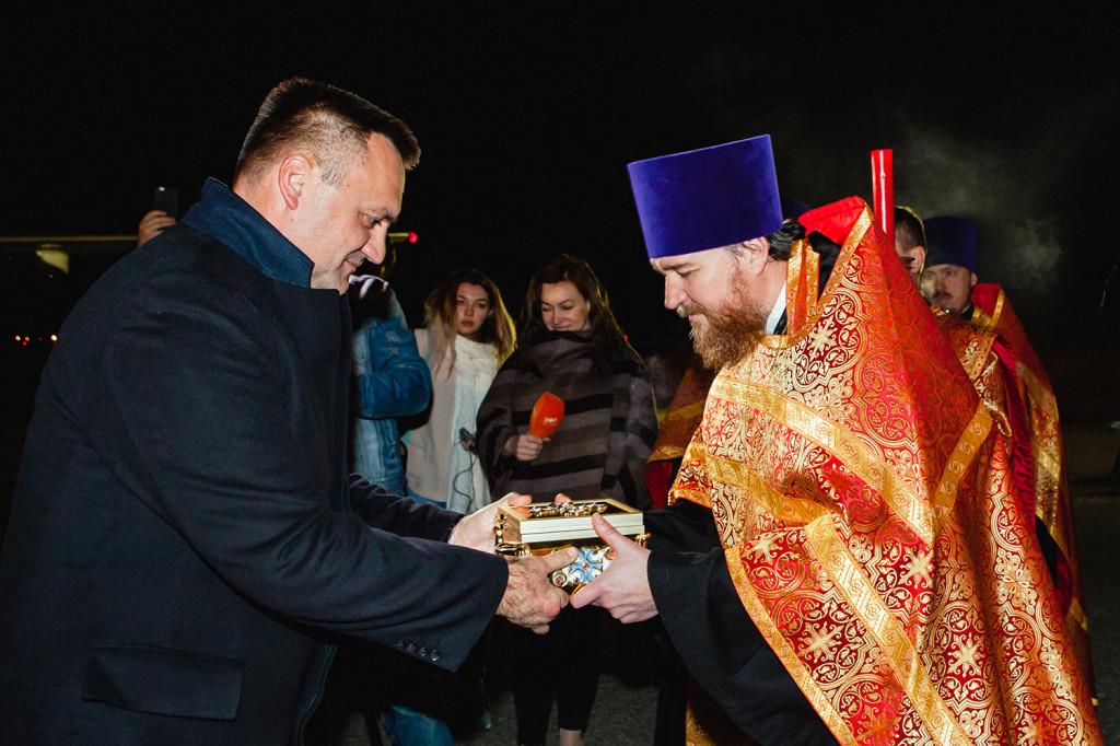 мощи святой блаженной Матроны Московской прибыли в Ставрополь - фото 3